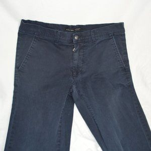 Zara Man Dark Blue Pants 35